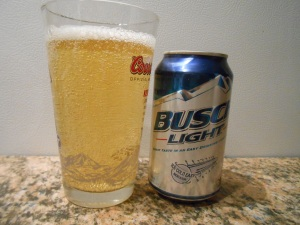 Busch Light - At least they knew how to spell 'light'.